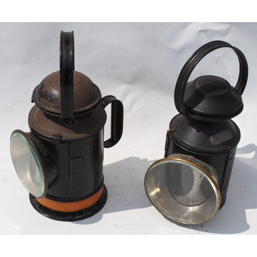 16 - British Railways (Western) & London North Eastern Railway fogging handlamps, both complete with all ...