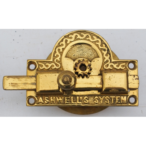 49 - Great Northern Railway/London North Eastern Railway Royal carriage internal brass fittings from salo...