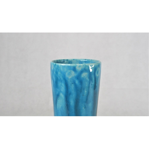 119 - A Chinese Turquoise Glazed Earthenware Vase, approx. 28cm.