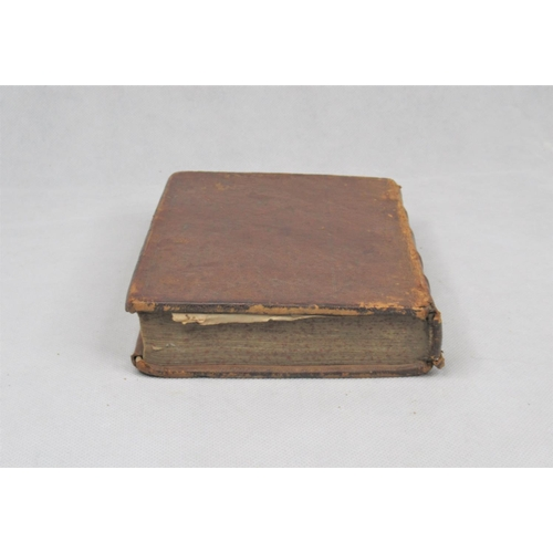 40 - Sieur Du Ryer, Lord of Malezair, 'The Alcoran of Mahomet', 1st English Edition 1649, leather bound, ...