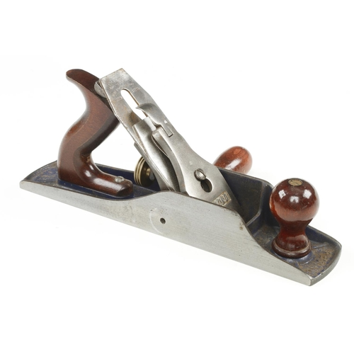 17 - A RECORD T5 fore plane with replaced side handle G+