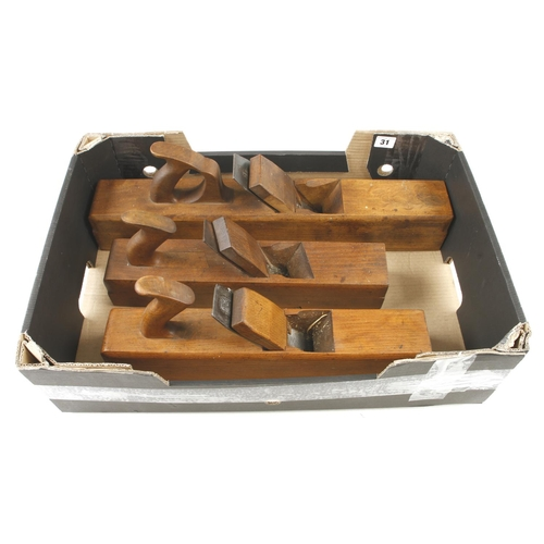 31 - A badger, jointer and jack plane by MATHIESON, PRESTON and MARPLES G+