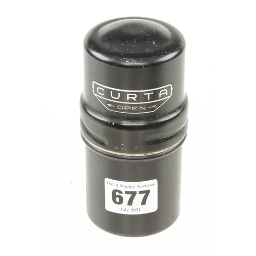 677 - A rare CURTA Type 1 calculator by CONTINA No 59478 in orig case G++