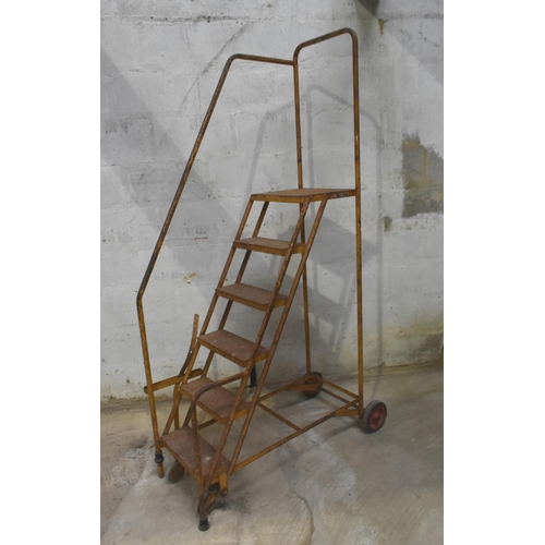 1 - A mobile step ladder.                                           Subject to VAT