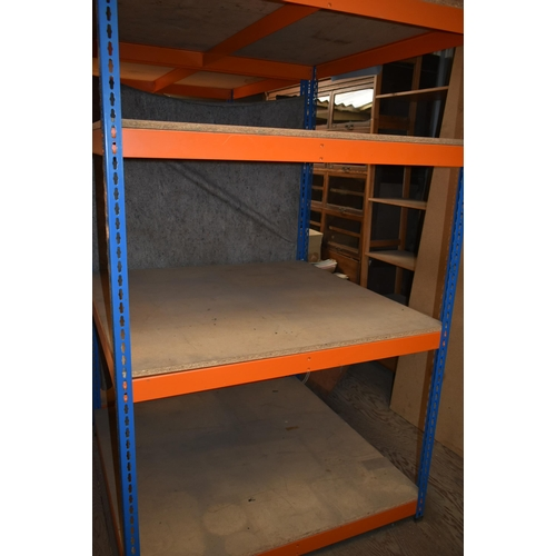 205 - A REDIRACK shelving unit 4' x 4'                                    Subject to VAT