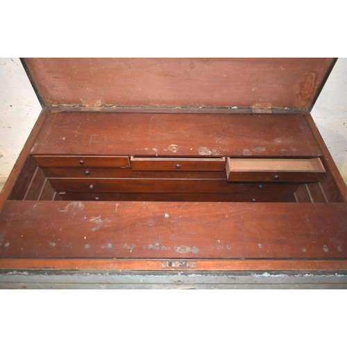 32 - A large fitted tool chest for restoration                           Subject to VAT