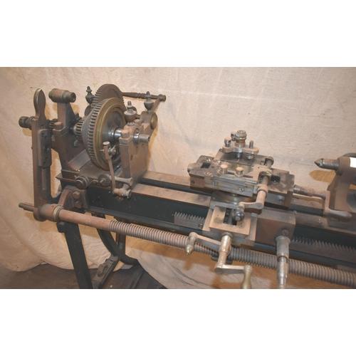 324 - A vintage ornamental turning lathe for restoration                                                  ...