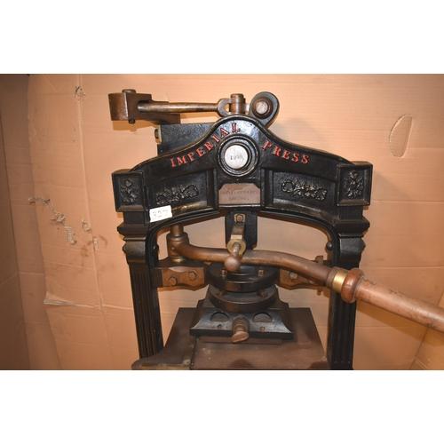 327 - A rare cast iron HOPKINSON & COPE