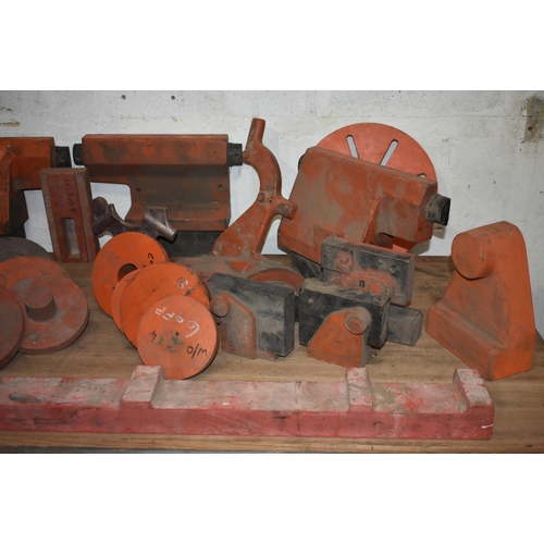 47 - Quantity of foundry patterns for lathe parts ex Harrison Lathe factory                              ...