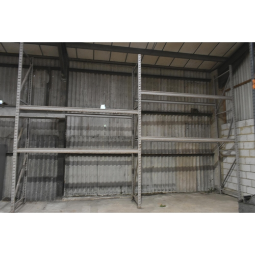 8 - A quantity of Dexion Boltless shelving on two pallets                                               ...