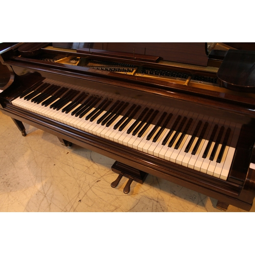 2 - Bechstein (c1938)  A 4ft 7in Model S grand piano in a mahogany case on square tapered legs; together...