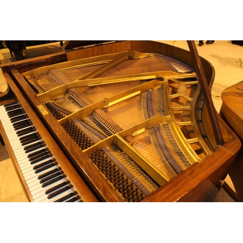 3 - Blüthner (c1933)  A 4ft 11in Model IV grand piano in a mahogany case on square tapered legs; togethe...