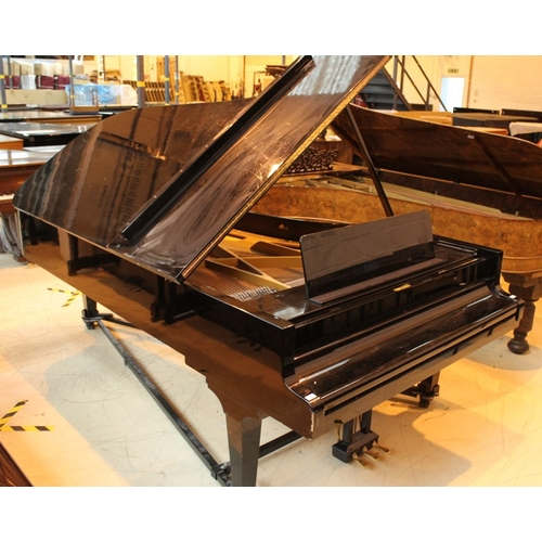 34 - Grotrian Steinweg (c1981)  A 9ft Model 275 grand piano in an ebonised case on square tapered legs. P...