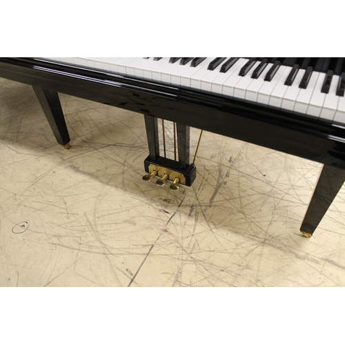 48 - Cranes  A recent 4ft 7in Model SG140A grand piano in a bright ebonised case....