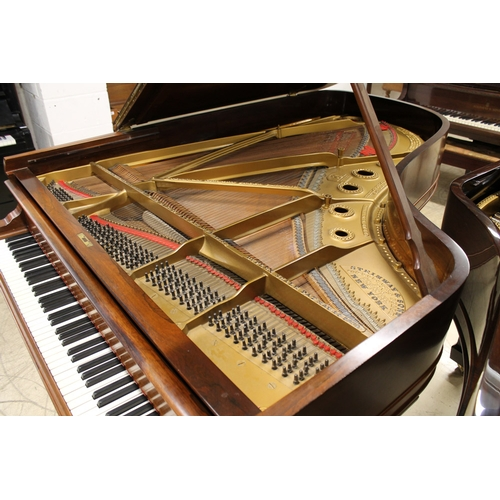 60 - Steinway (c1900)  A 6ft 11in 88-note Model B grand piano in a rosewood case on square tapered legs. ...