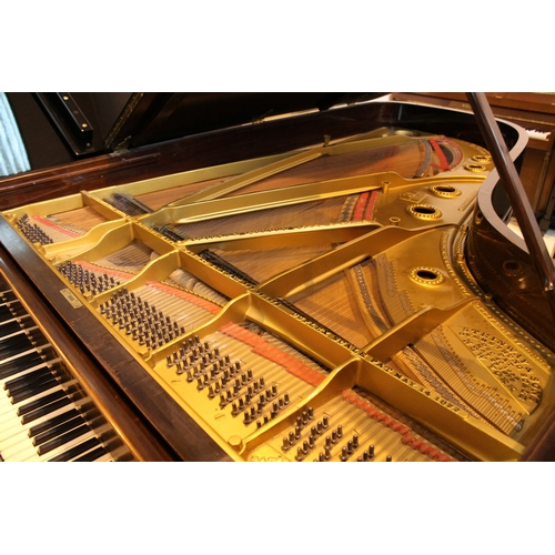 20 - Steinway (c1894)  A 7ft 5in 88-note Model C grand piano in a rosewood case on turned legs....