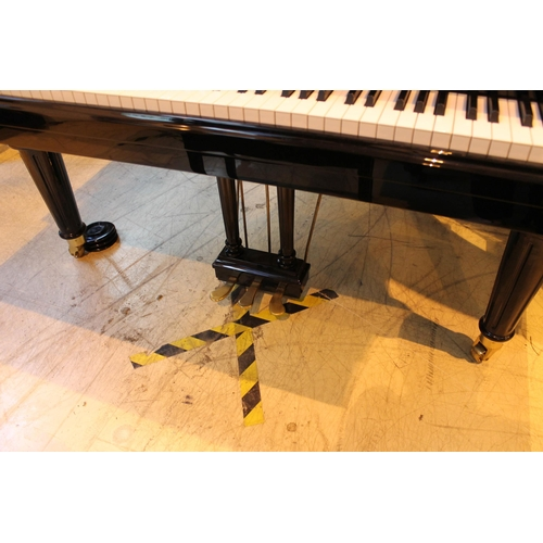 57 - Görs and Kallmann (c2018)A 5ft 7in grand piano in a bright ebonised case on turned and tapered legs...