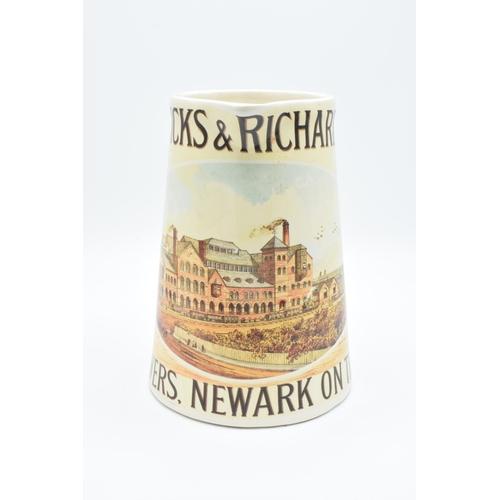 15 - Warwicks & Richardsons Brewers of Newark avertising pub jug (1970s)...