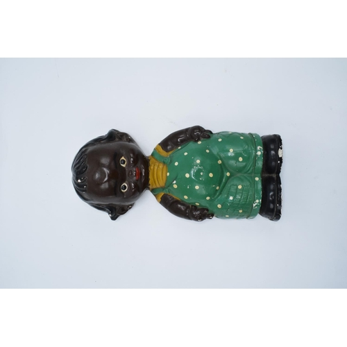 18 - Mid 20th century plaster wall hanging figure in the Lucy Mabel Attwell style...