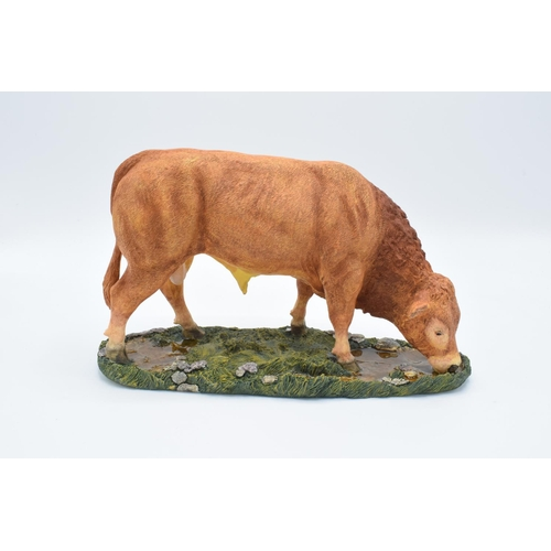 28 - Boxed Sherratt and Simpson farming figure 'Limousin Bull'...