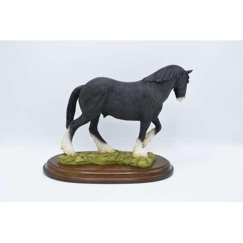 45 - Boxed Country Artists countryside figure of a Shire Gelding...