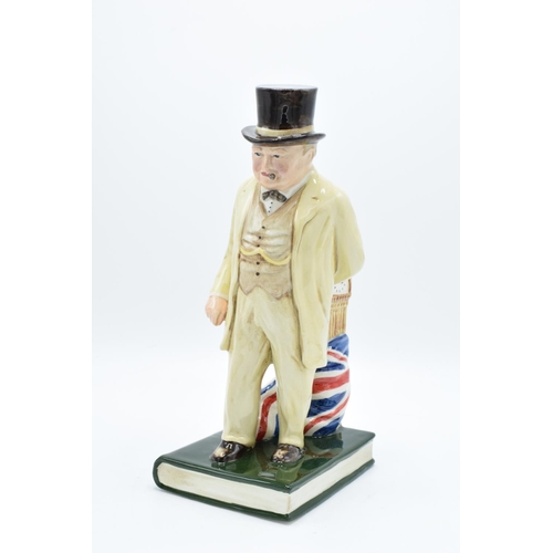34 - Bairstow Manor Pottery figure of Winston Churchill The Politician (309/750) All in good condition wi...