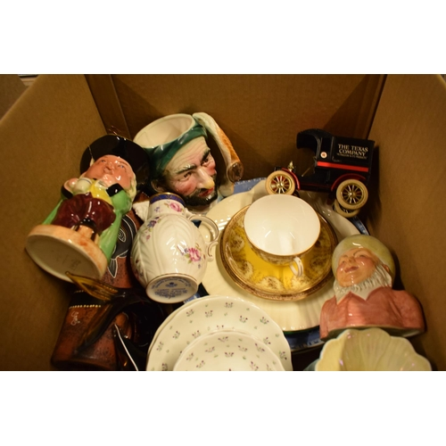 5H - A mixed collection of items to include Royal Doulton character jug, Royal Crown Derby etc  Condition...