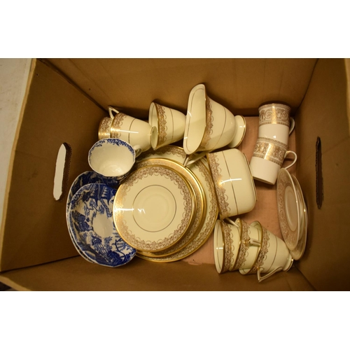 5J - Royal Doulton part tea set and other tea ware.  Condition is generally good. No condition reports av...