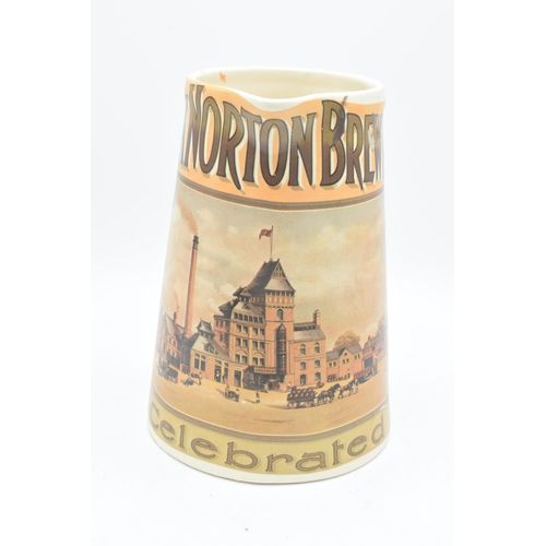 5 - 'The Hook Norton Brewery Co' late 20th century transfer print pub jug. In good condition with no obv...