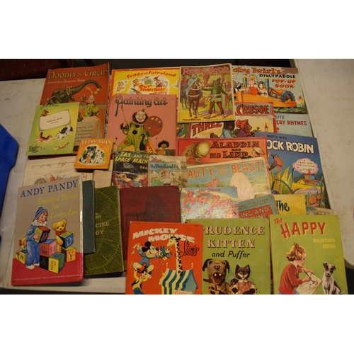 2 - A collection of 20th century children's books to include Toby Twirls Pop Up Book, York series, nurse...