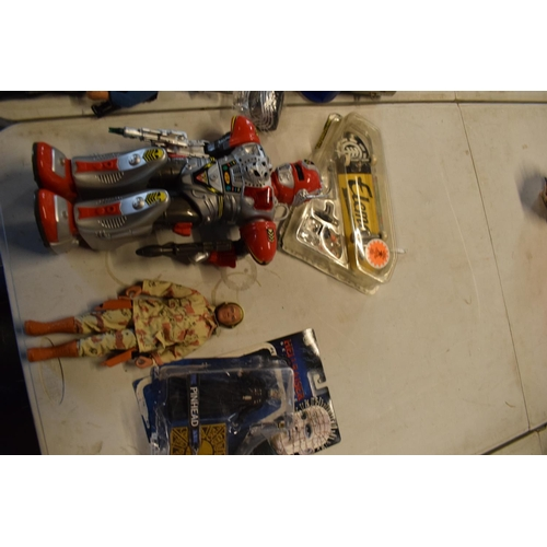 17 - A large collection of toys to include Star Wars, Marvel, Fallout Shelter etc. No postage.