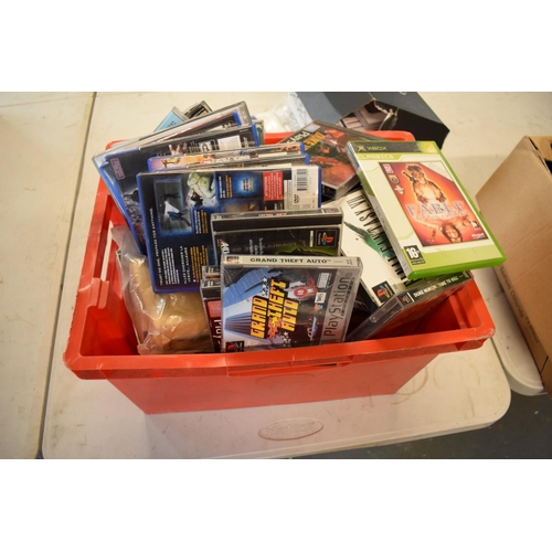 19 - Playstation 2 console together with a quantity of PS1 and PS2 games and a box wires/ controllers. Th...