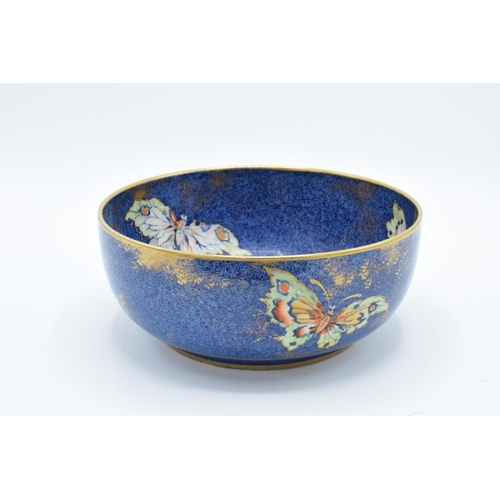 4 - Rialto Ware pottery bowl with butterflies decoration. In good condition with no obvious damage or re...
