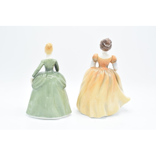 40 - Francesca Art China lady figures to include Marjorie and Eugenie (2). In good condition with no obvi...