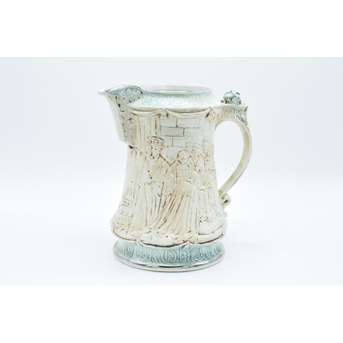 10t - Burleigh reproduction jug for the Queen's Silver Jubilee