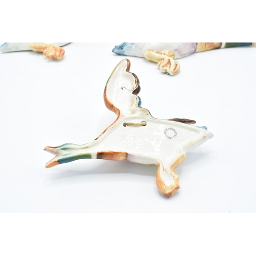 152 - Beswick Flying Mallard wall plaques 596-2 x 2 and 596-4 (3). In good condition with no obvious damag...