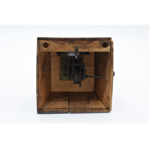 250 - A 20th century wooden cased 'Metronome de Maelzel'. In ticking order though untested for time keepin...