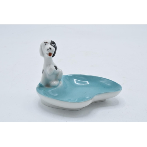 27 - A Tosca Fine China of Germany model of a dog ashtray. In good condition with no obvious damage or re...