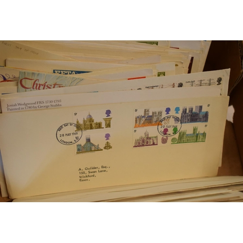 67 - A large collection of 300+ mainly used First Day Covers and similar to include various occasions suc...
