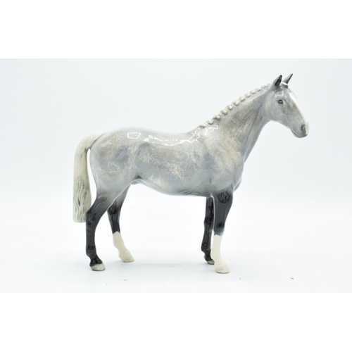 151A - Beswick Grey Roan hunter horse H260, limited edition. In good condition with no obvious damage or re...