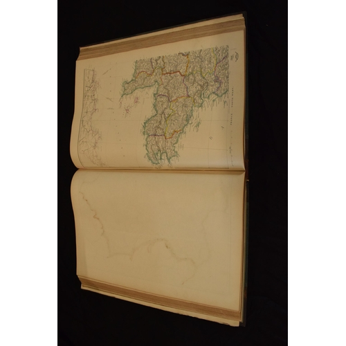 182A - 19th century 'Cassell's Complete Atlas containing two hundred and sixty folio maps, (beautifully eng...