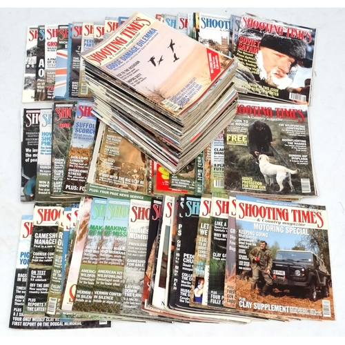 10 - A large collection of '' Shooting Times & Country Magazine '' magazines, to include volumes from 198...