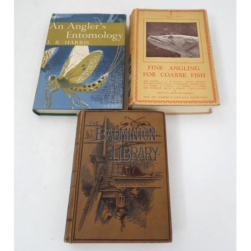 17 - Fishing Books: '' Fishing '' by H Cholmondeley-Pennell, Second edition, published by Longmans, Green...