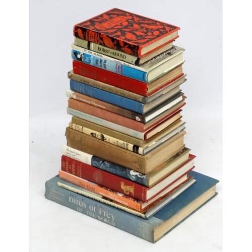 25 - Books: A collection of approximately 17 books on the Countryside and Natural History, to include: ''...