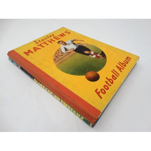 33 - Football Books: '' Stanley Matthews' Football Album '', sold by Marks and Spencer, printed by L.T.A ...