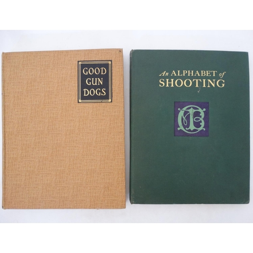 4 - Books: '' An Alphabet of Shooting '' by Eric Parker , published by '' The Field '' London, 1932, wit...