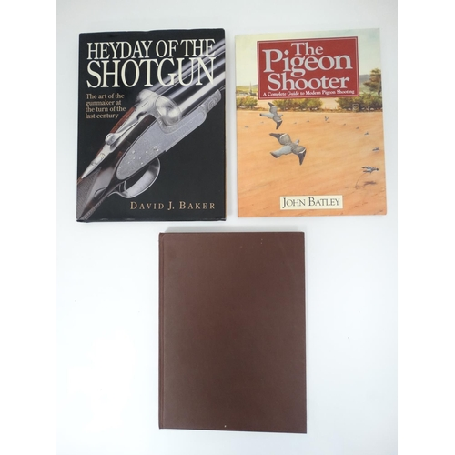 5 - Shooting Books: A collection of three shooting books published by Swan Hill Press, Shrewsbury,  to i...