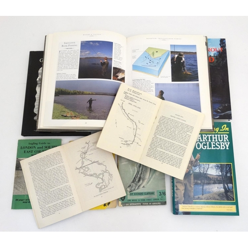 13 - Fishing Books: A collection of 9 books on fishing to include: '' The Sotheby's Guide to Fly-Fishing ...