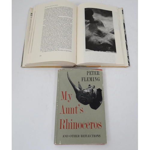 4 - Books: '' My Aunt's Rhinoceros: And other reflections '' by Peter Fleming, published by Rupert Hart-...