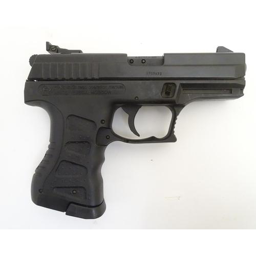 Airgun: an 'A3000'  177/4 5mm BB Co2 air pistol by Anics, 7
